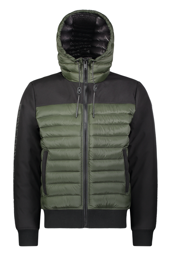 Moose Knuckles Men's Moutray Jacket in Army