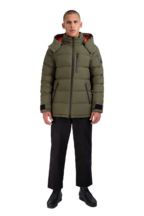 Moose Knuckles Men's Viamonde Jacket in Army