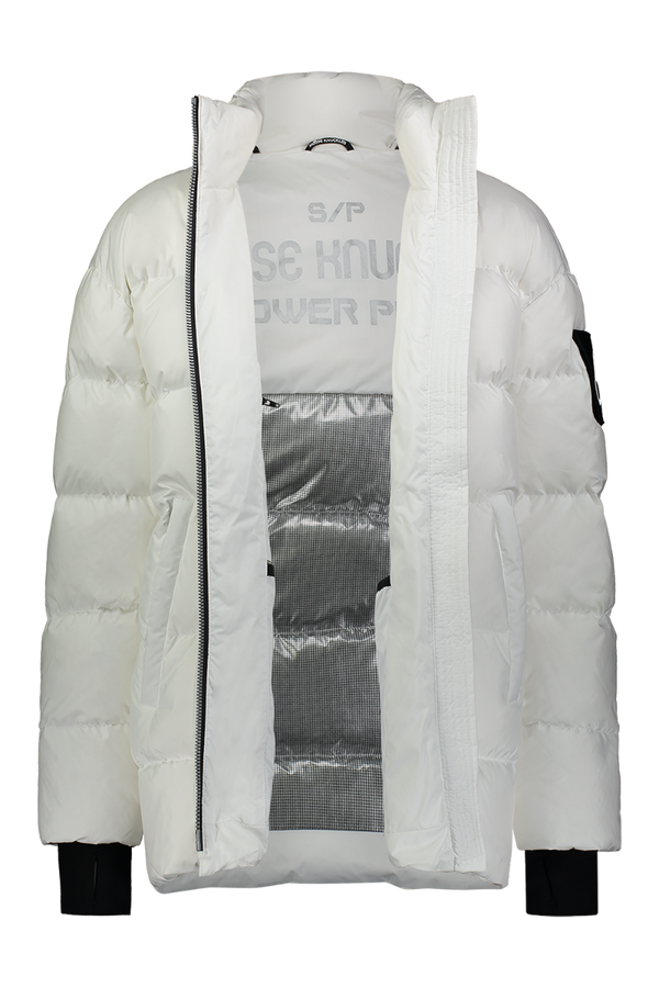 Moose Knuckles Ladies Replin Puffer in White