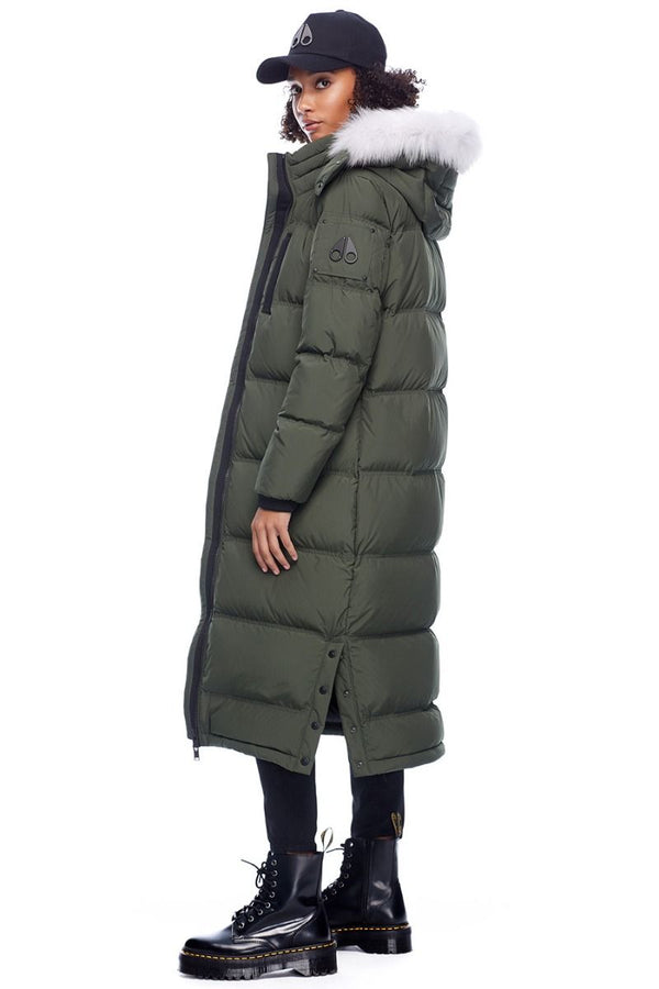Moose Knuckles Ladies Fox Valley Parka in Army