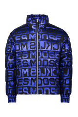 Moose Knuckles Men's Zachary Puffer in Cobalt Foil
