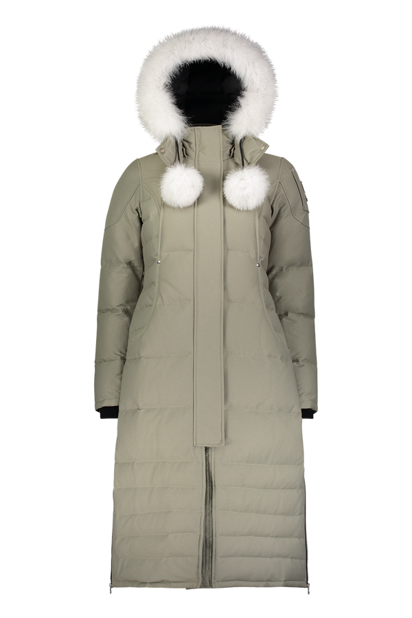 Moose Knuckles Ladies Saskatchewan Parka in Moon Walk