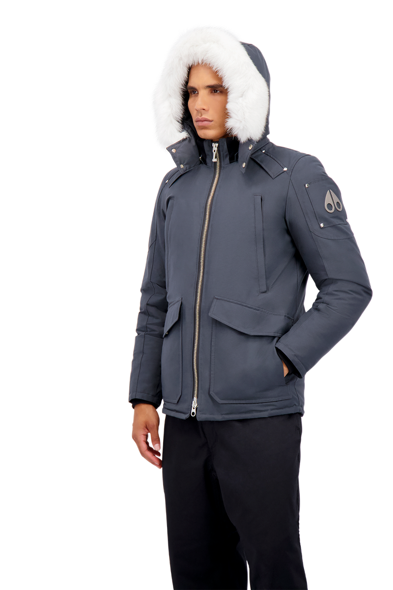 Moose Knuckles Men's Pearson Jacket in Granite