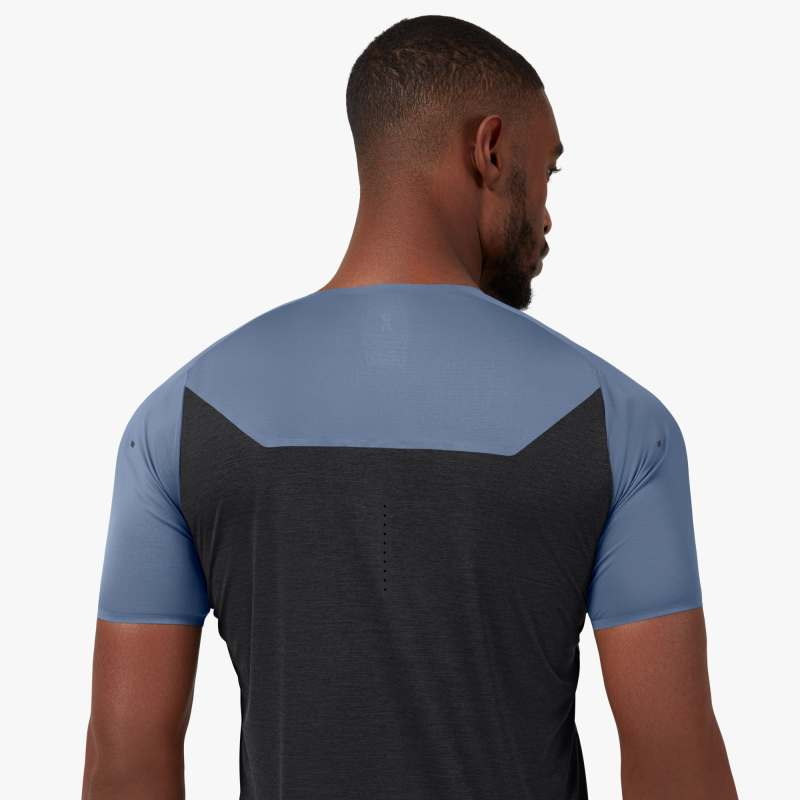 ON | Performance-T in Cerulean/Black