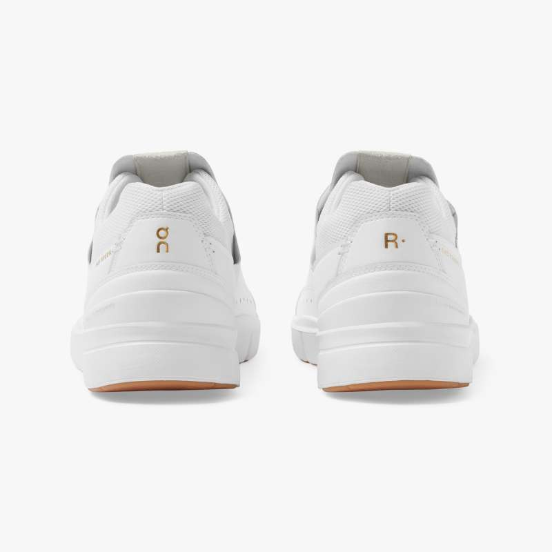 On Running | THE ROGER Centre Court Sneaker in White/Gum