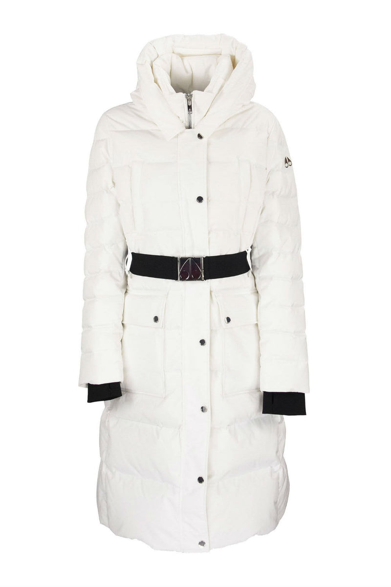 Moose Knuckles Ladies Cornelia Parka in White