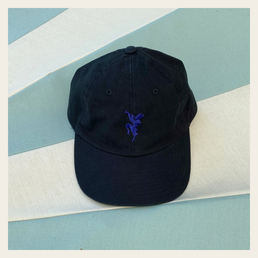 Chateau Marmont Embroidered Black Cap