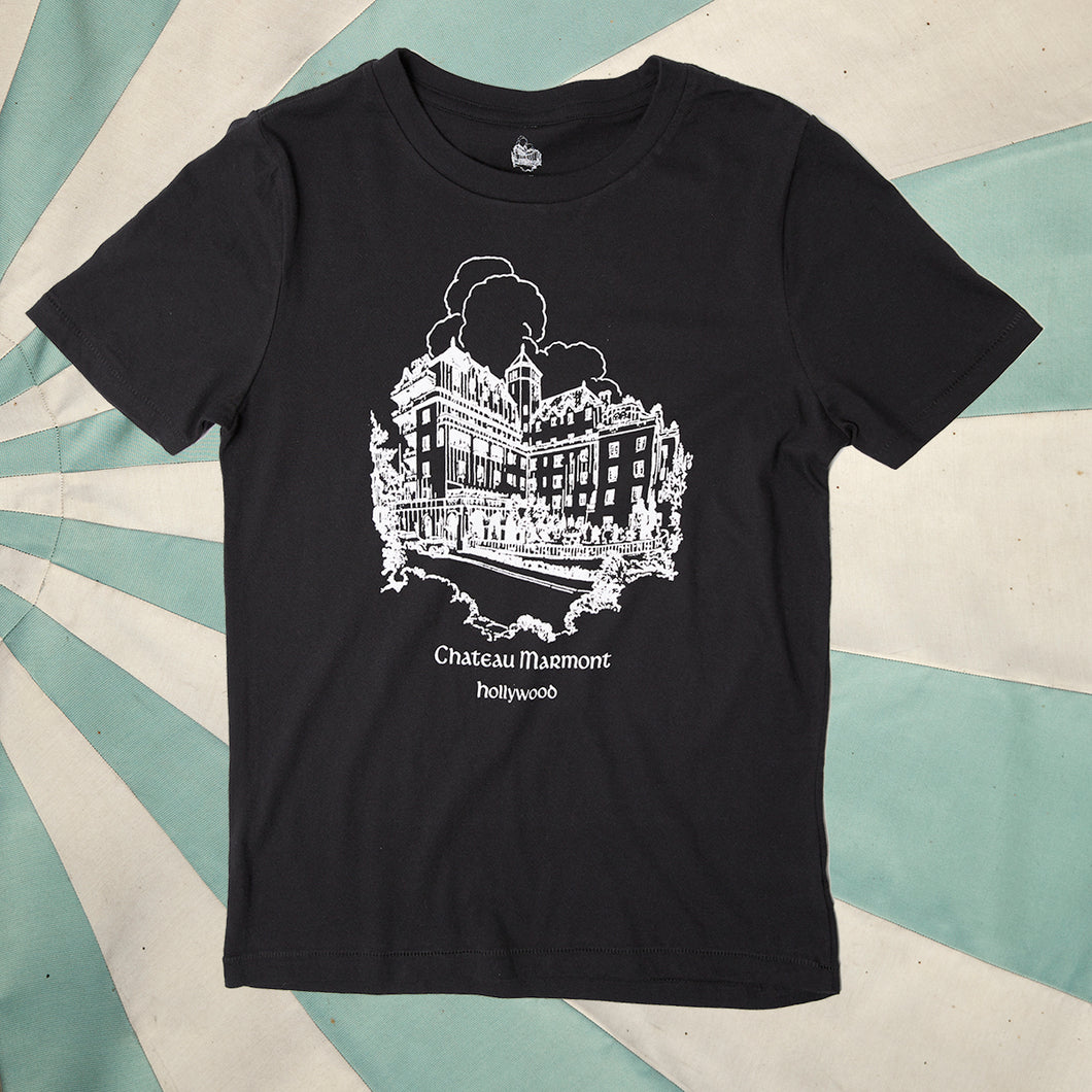Chateau Marmont Black Castle T-shirt