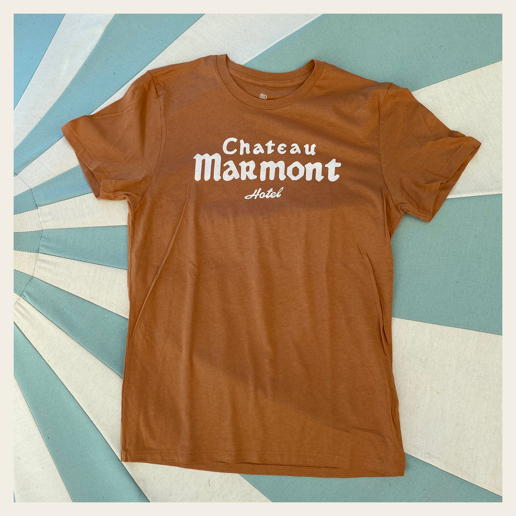 Chateau Marmont Copper T-shirt