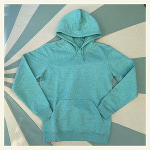 Chateau Marmont Heather Green Hooded Sweatshirt