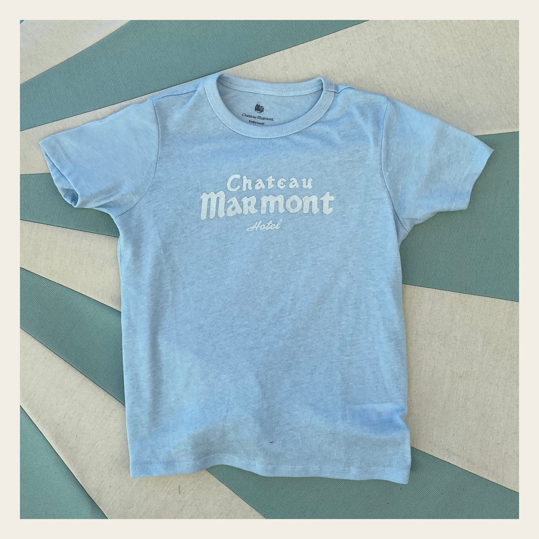 Chateau Marmont Child's Blue T-shirt