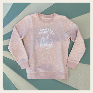 Chateau Marmont Child's Pink Sweatshirt