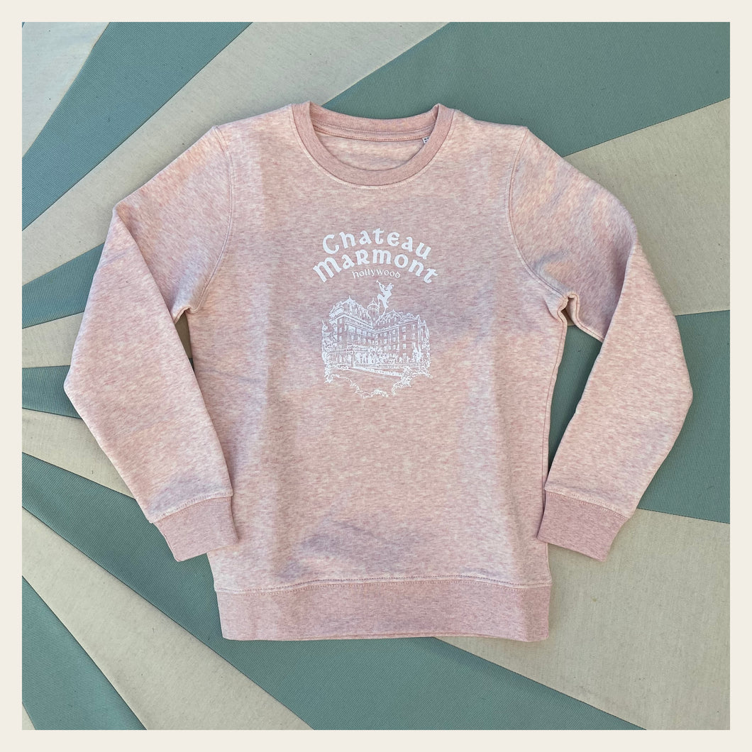Chateau Marmont Child's Heather Pink Sweatshirt