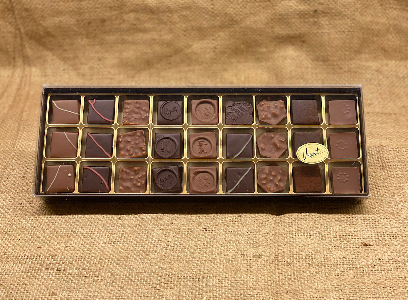 L'assortiment Chocolats Pralinés - Calibre 27