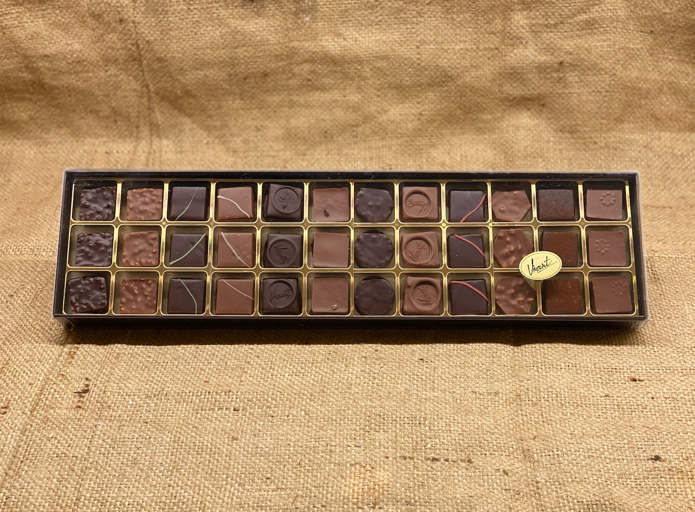 L'assortiment Chocolats Pralinés - Calibre 36
