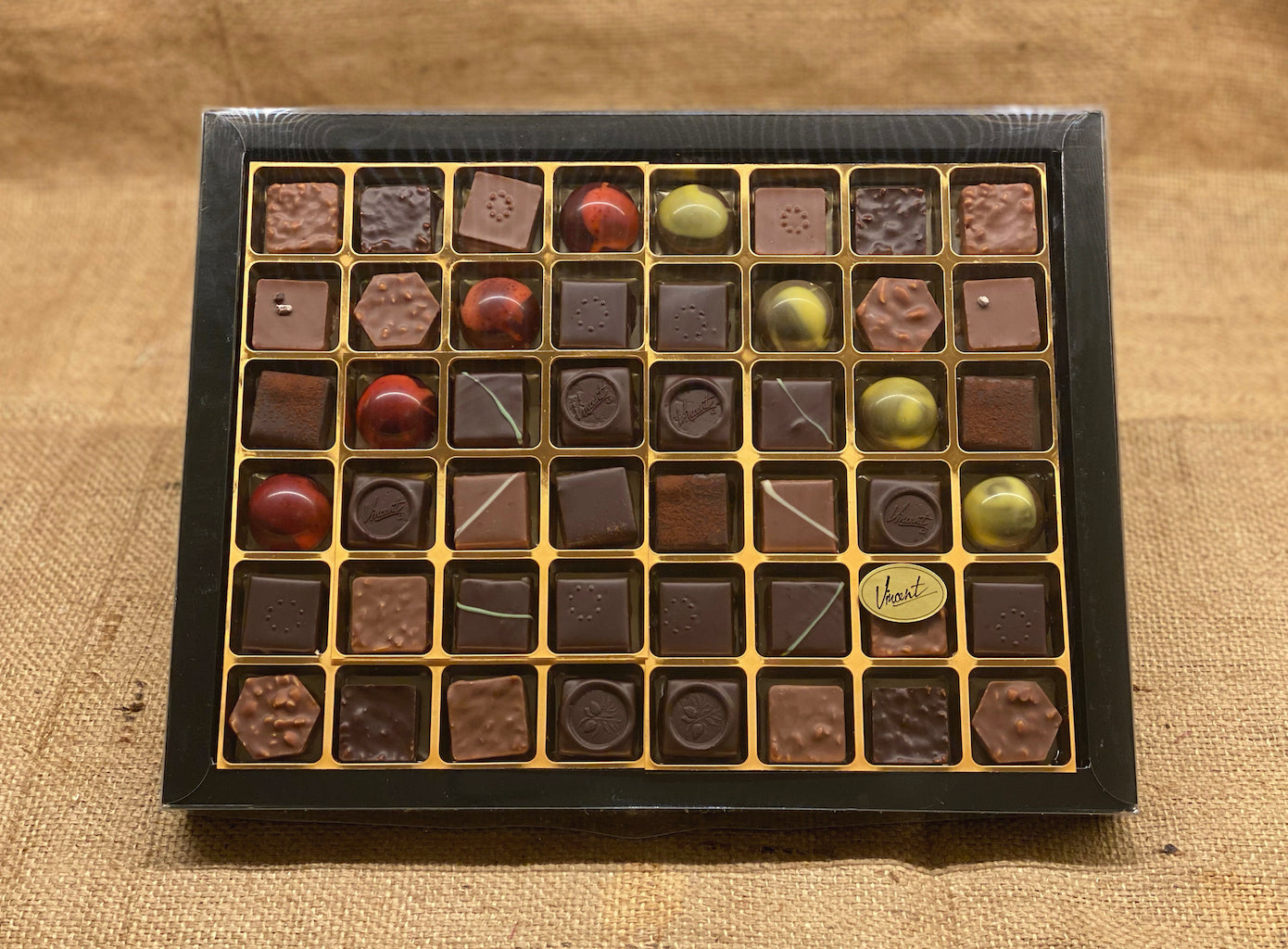 L'assortiment Chocolats Pralinés - Calibre 48