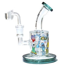 "Load image into Gallery viewer, 6"" Rick and Morty dab rig"