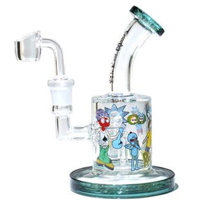 "6"" Rick and Morty dab rig"