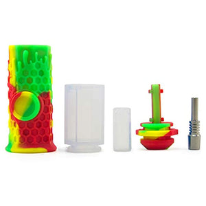 Silicone Honeycomb Nectar Collector 7""