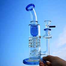 Load image into Gallery viewer, 8.2 inch Triple Perc Inline Recycler