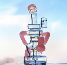 Load image into Gallery viewer, 9 inch Triple Tube Recycler