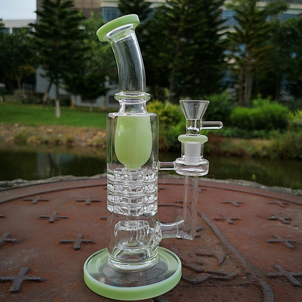 8.2 inch Triple Perc Inline Recycler