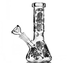 Load image into Gallery viewer, Glow in the Dark Tiki 14.5 inch Beaker Bong