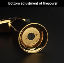 Load image into Gallery viewer, Gold Handheld Butane Torch