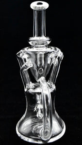 7 inch Clear Quad Tube Recycler