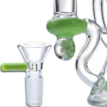 Load image into Gallery viewer, 7.8 inch Neon Green Recycler