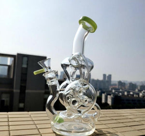 New design double tube recycler