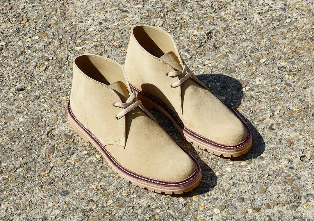 Desert Rand boots sand suede