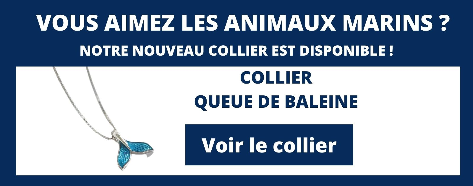 collier queue de baleine