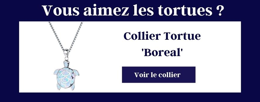 Collier tortue