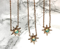 Aphrodite Opal Star Necklace - SeekChicCo