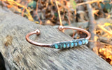 Handmade Opal Chip Bangle - SeekChicCo