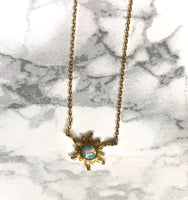 Sun Opal Necklace - SeekChicCo