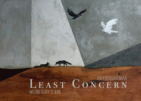 Least Concern by Asher Boardman | Quirky Fox