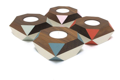 Gwyneth Hulse - tea light holders