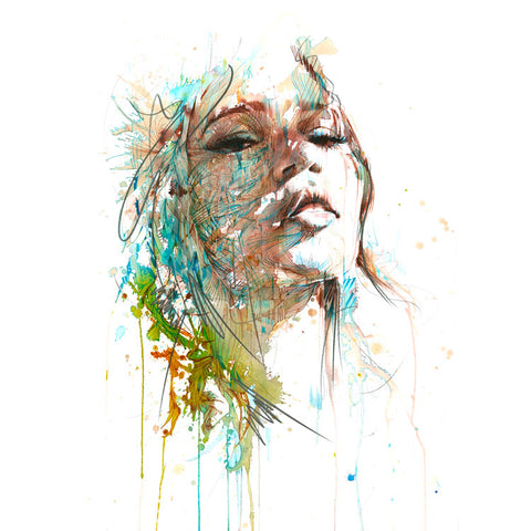 Feel the Sunlight by Carne Griffiths
