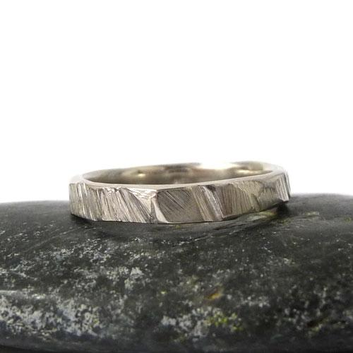 'Bark Ring - Sterling Silver' by Sophie Divett - Quirky Fox