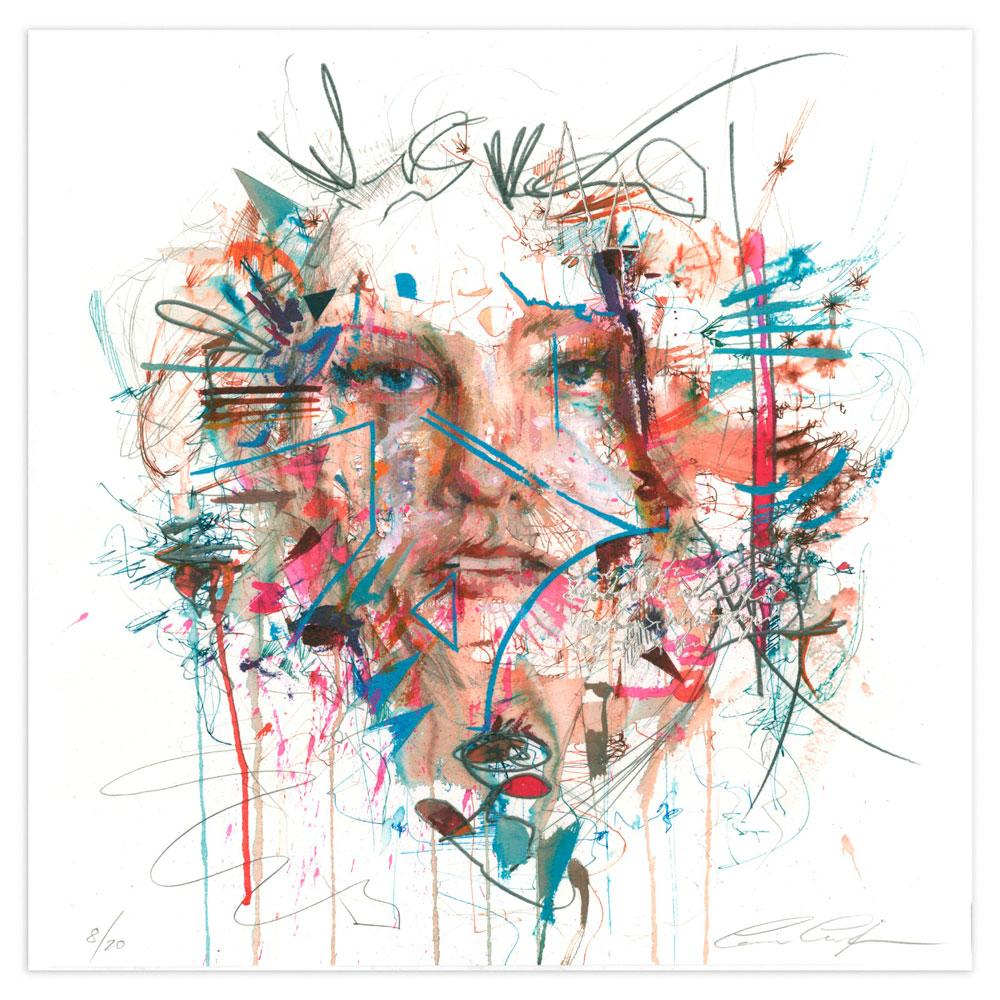 'Parallel Universe | Limited Edition' by Carne Griffiths at Quirky Fox