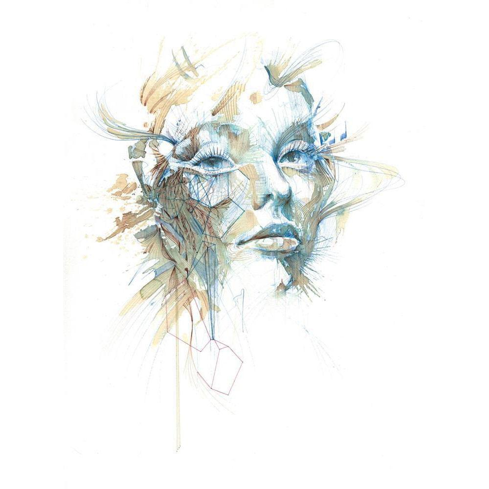 'Reconnecting | Limited Edition' by Carne Griffiths at Quirky Fox