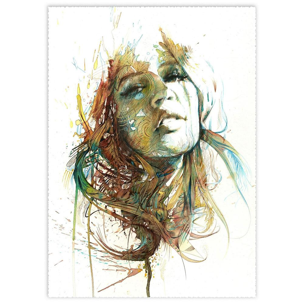 'Solace | Limited Edition' by Carne Griffiths at Quirky Fox