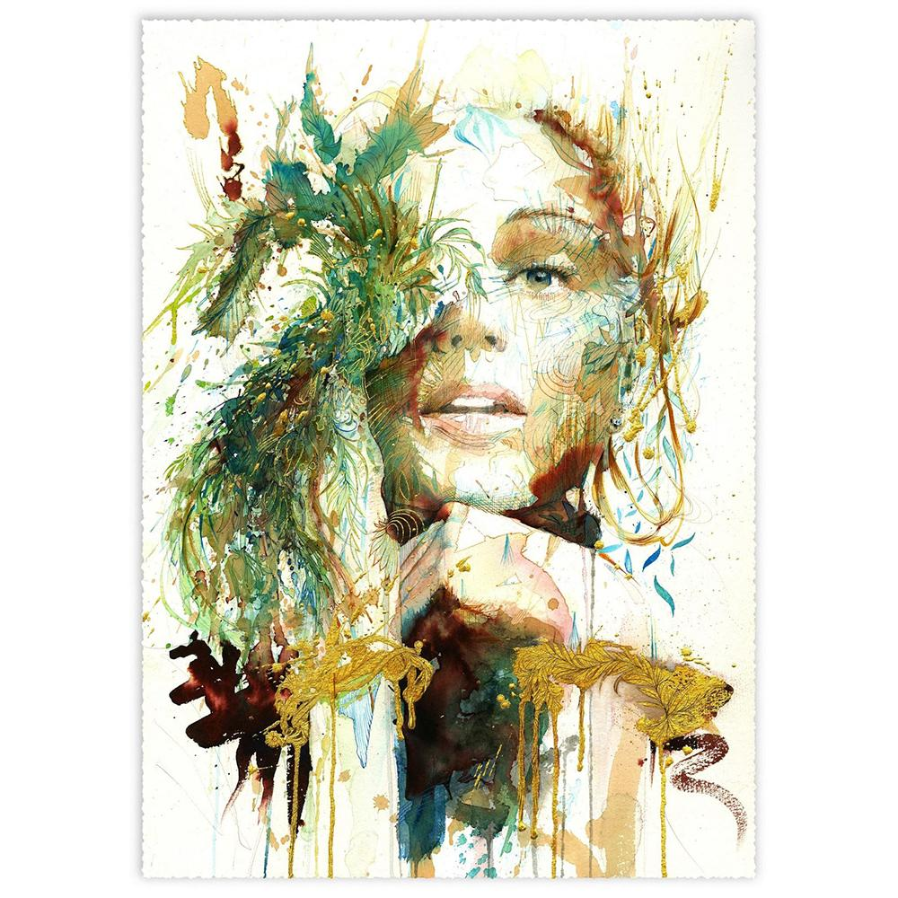 'The Present | Limited Edition' by Carne Griffiths at Quirky Fox