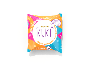 Kuki Ginger, Cranberry and White Chocolate