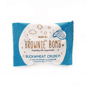 Brownie Bomb Buckwheat Crunch