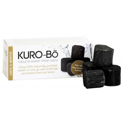 KURO-Bo Activated Charcoal Filtered koins