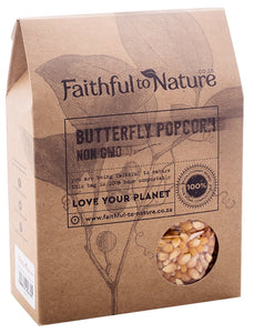 Faithful to Nature Butterfly Popcorn - Non GMO 400g