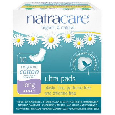 Organic Cotton Ultra Pads Long